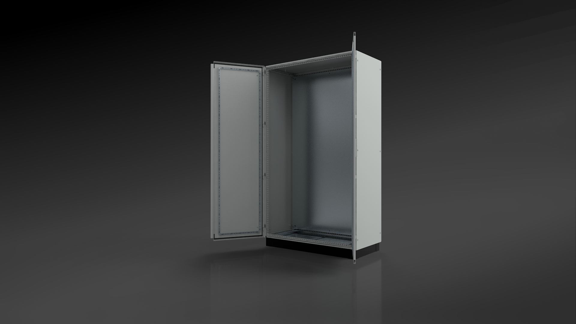 d721c718c3 The opportunity to change the opening direction of main and adjacent doors  on double-door enclosures according to needs, creates added flexibility  when ...