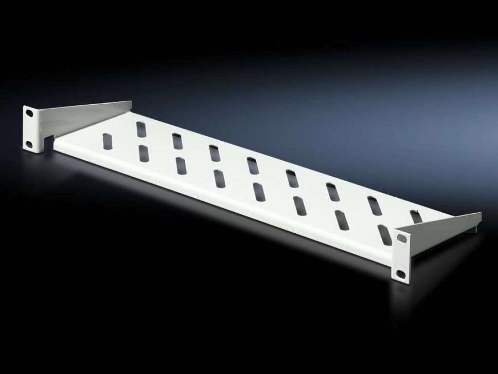 Component shelf 1 U, static installation 482.6 mm (19