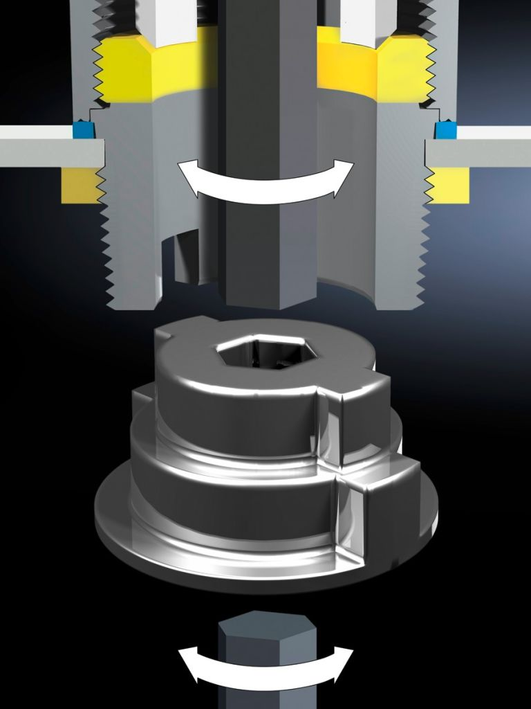 Assembly tool for HD cable glands