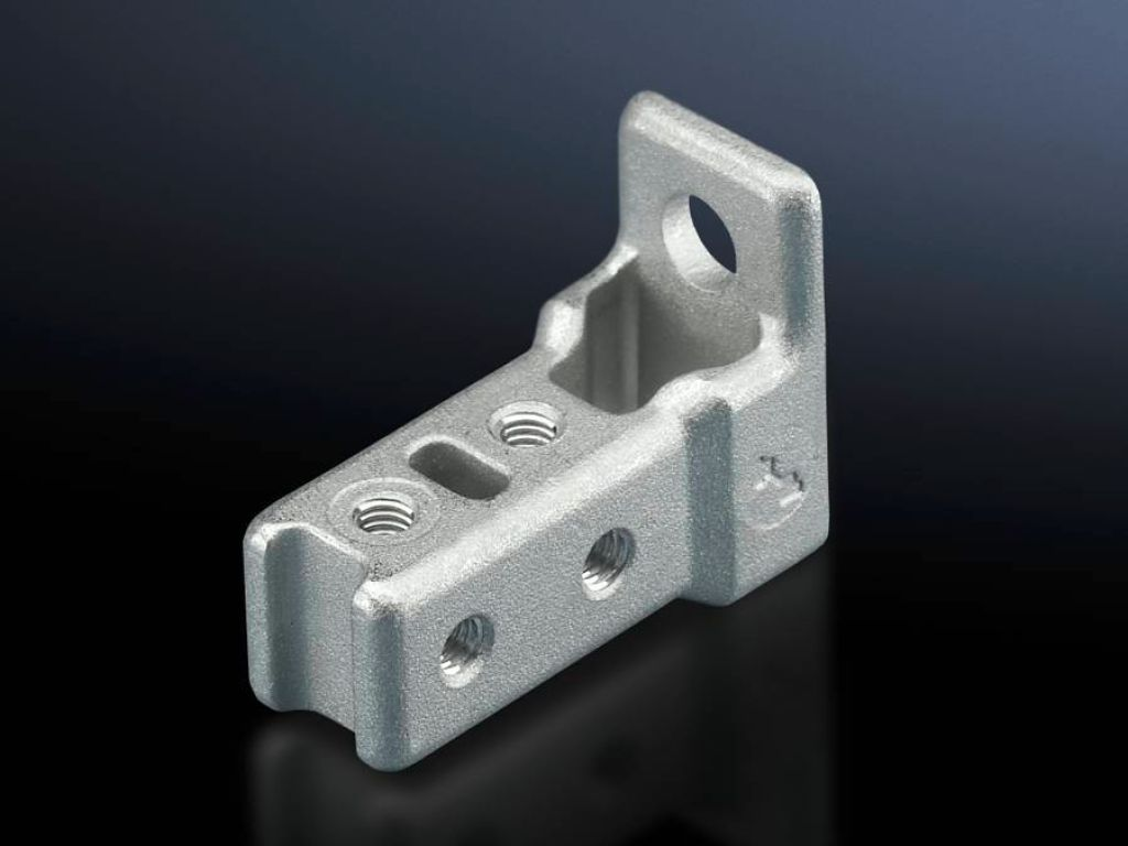 frame connector piece for ts punched rail 17 x 17 mm