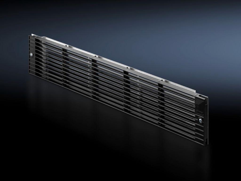 Griglia frontale 2 he per ventilatori di pressurizzazione - Aeratore per bagno cieco ...