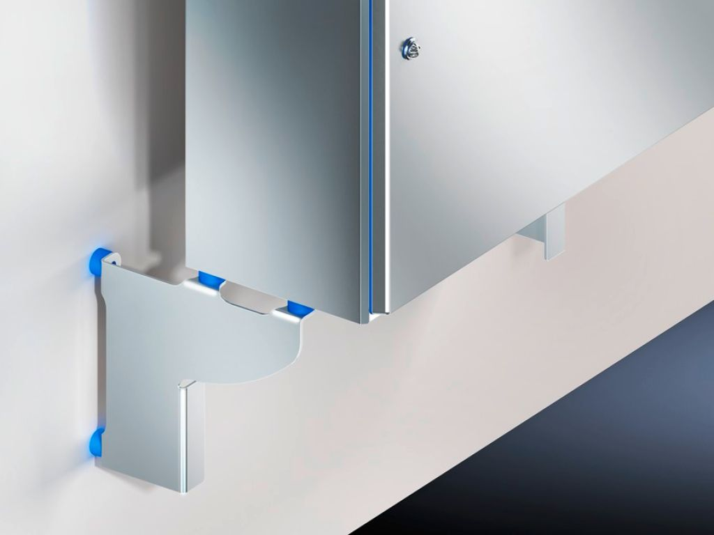 HD wall spacer bracket