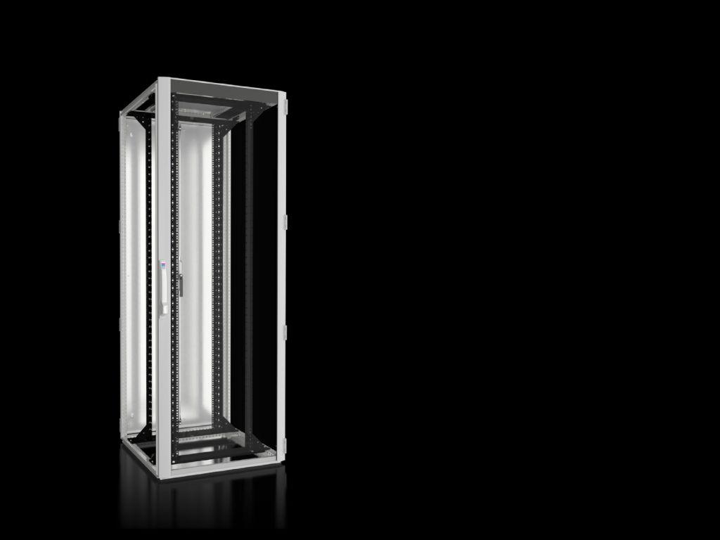 Armario para redes/servidores TS IT con puerta transparente, con ...