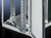 Schwenkrahmen, groß, ohne Blende für TS, SE, 600 mm und 1200 mm breite Schränke
