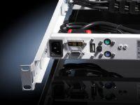 Консоль монитор/клавиатура с 17 ЖК-дисплеем и входом VGA/DVI