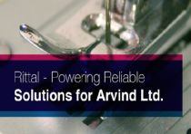 Rittal Powering Reliable Solution for Arvind Ltd.