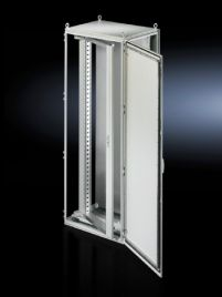 Swing frame, large, with trim panel for TS, SE 800 mm wide enclosures