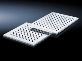 Component shelf, heavy duty for network enclosures TS with L-shaped mounting angles