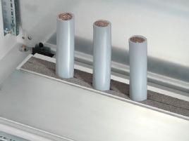 型材用于在后面导入电缆 用于 TS、SE、CM、TP