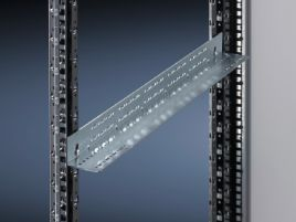 Slide rail, 1 U, static installation for TS IT