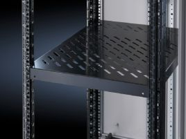 Component shelf, static installation for 482.6 mm (19
