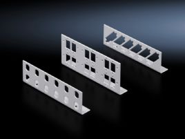 Patch panels for small fibre-optic distributors