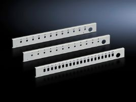 Patch panel for fiber-optic splicing box, lockable