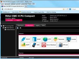 Server shutdown software for CMC III
