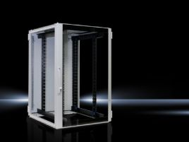 Network/server enclosure TS IT with glazed door, with 482.6 mm (19