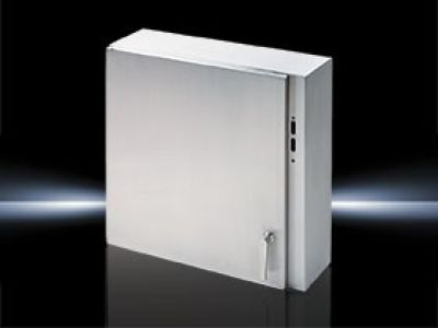 Wallmounted enclosure Stainless steel, disconnect
