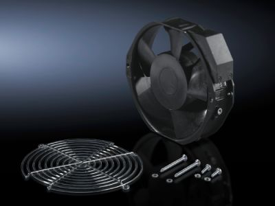 Fan expansion kit for door-mounted fan