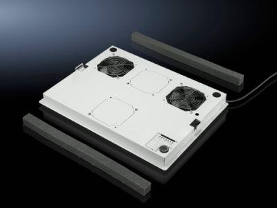 Fan mounting plate