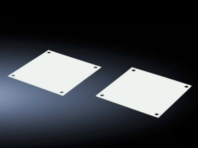 Cover plates for fan panels for FlatBox