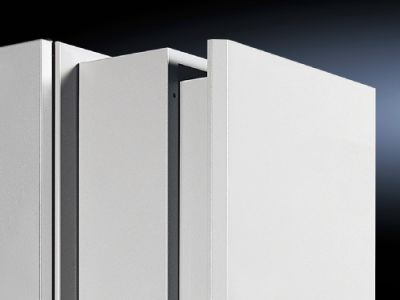 Trim frame for slimline cooling units