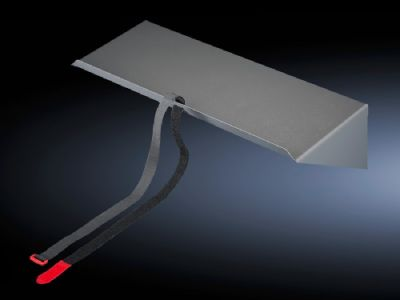 Base for tubular door frame