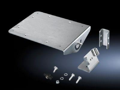 Ablage für Mousepad für Bediengehäuse oder Flächen