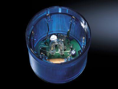 LED flashing light component for signal pillar, modular