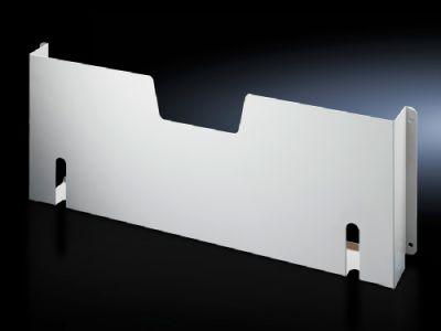 Wiring plan pocket of sheet steel for VX, TS, CM, SE, PC, TP pedestal
