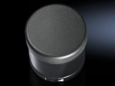 Acoustic component for signal pillar, modular
