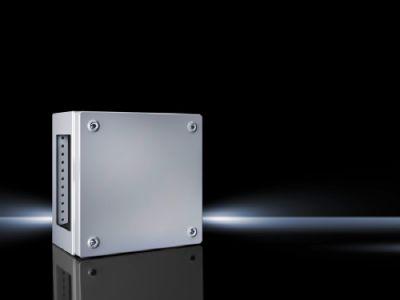 Клеммные коробки KL Листовая сталь, с фланш-панелью