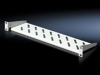 "Component shelf 1 U, static installation 482.6 mm (19"") system punchings"