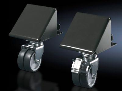 Transport castors For VX base/plinth systems