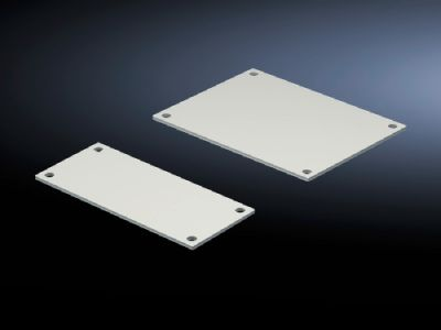 Gland plate for compartment side panel modules (internal compartmentalisation)
