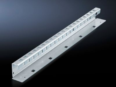 Mounting bracket for compartment divider and air circuit-breaker support rail