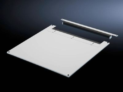 Roof plate for cable entry, two-piece for TS, TS IT