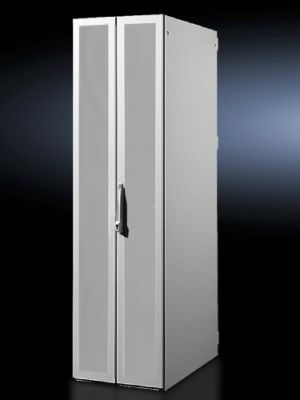 Sheet steel door, vertically divided, solid for DK-TS