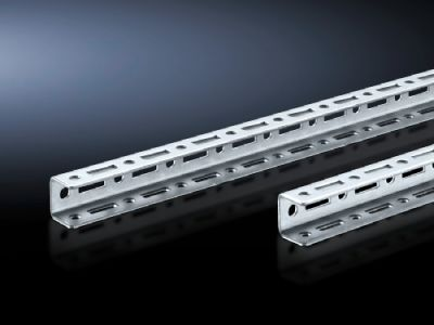 TS punched rail 17 x 17 mm for TS