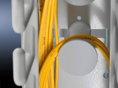 Cable ties for spare cables