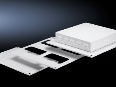 Roof plate IP 55, solid for TS