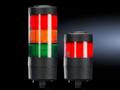 Columnas de señalización LED compactas