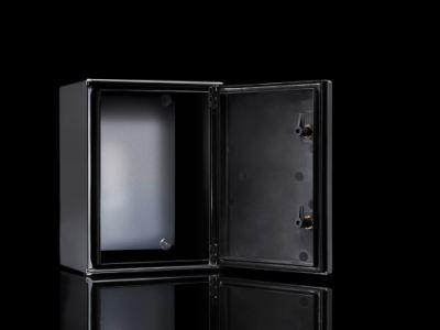 Ex enclosures Plastic, empty enclosure with hinged door