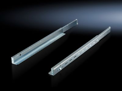 Slide rail, 1 U, depth-variable for VX IT, TE