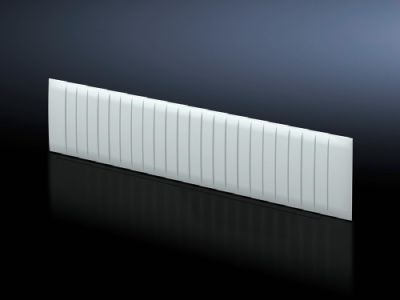 Abdeckstreifen für Reiheneinbaugeräte-Modul