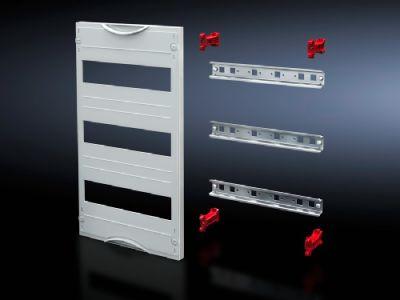 DIN rail mounted device module