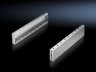 Base/plinth trim panels, side, 100 mm Stainless steel for base/plinth components front and rear