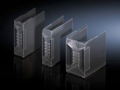 Cobertura do espaço de conexão para seccionadores verticais sob carga para fusíveis NH/chaves seccionadoras NH