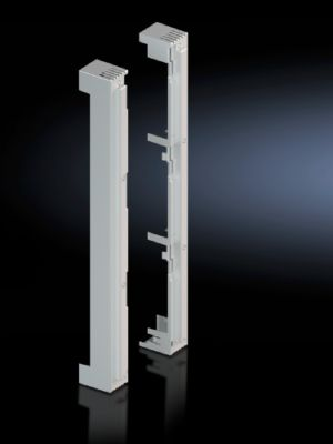 End cover for busbar supports