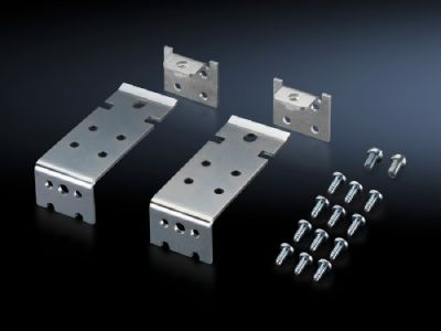 Baying clamp, horizontal for back-to-back mounting