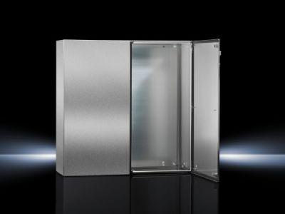 Porte de droite pour coffrets AE à deux portes en acier inoxydable