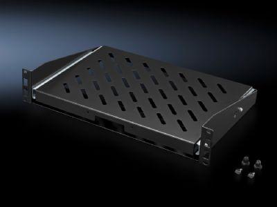 """Hyllplan, utdragbart, 2 HE för en 482,6 mm (19"""")-profilskena"""
